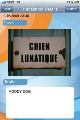 Screenshot von SpeakLike Photo Translator1