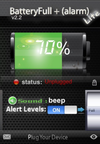 BatteryFull + (Alarm) FREE screenshot 3