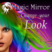 Hairstyle Magic Mirror Change your look icon