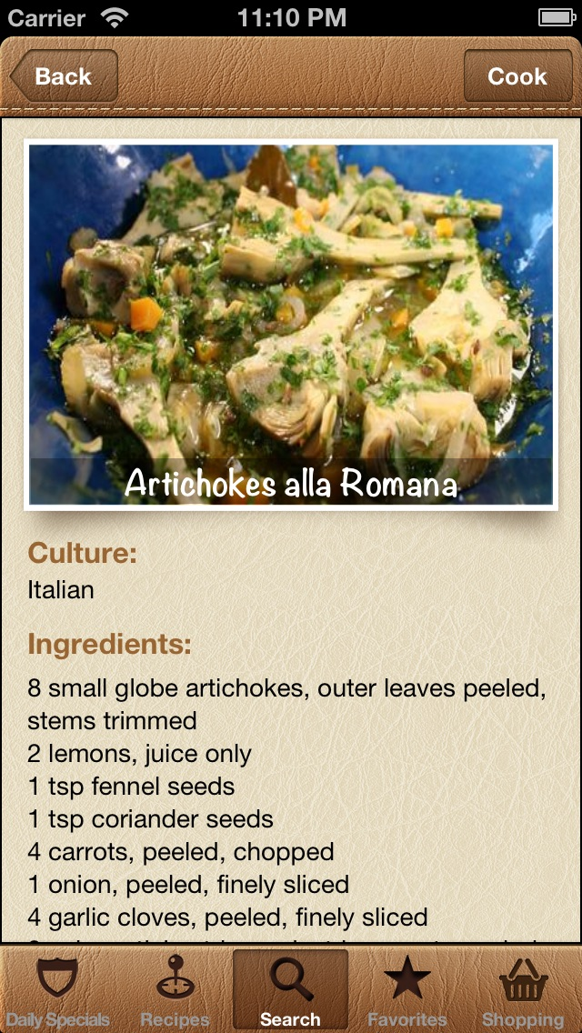 Screenshot #8 for World Recipes - Cook World Gourmet