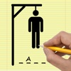 Paper Hangman - Free Classic Old School Doodle Hang Man Words Game with General, Sports, for Kids, Vehicles, Music, Animals, Food and Spanish Categories