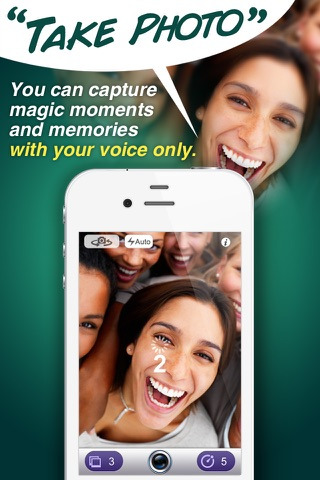 Voice Command Camera free screenshot 1