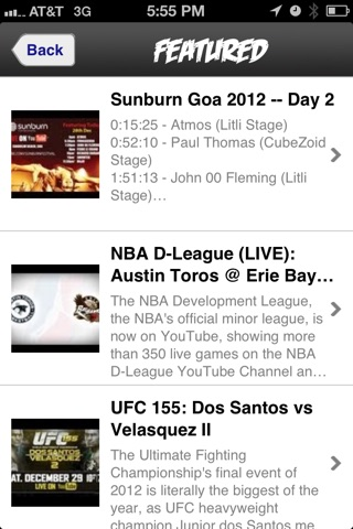 Live Tube screenshot 3