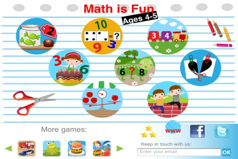 Math is fun: Age 4-5 screenshot 1