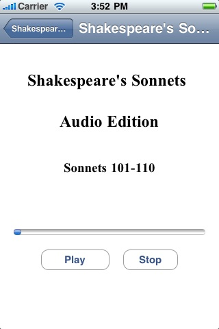 Shakespeare's Sonnets - Audio Edition screenshot 4