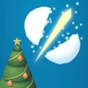 Snowball Slice Christmas edition - fight snowballs like a ninja!