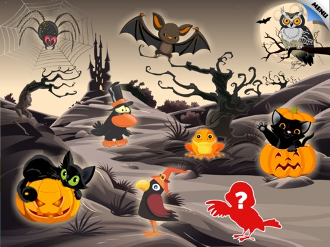 Abby Monkey®: Halloween Puzzle for Toddlers and Preschool Explorers screenshot 4