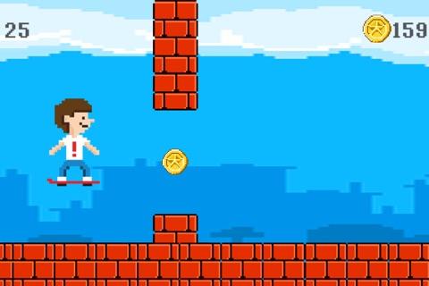 Hover Harry - The Kickflip Flying Ollie Skateboard Game screenshot 2