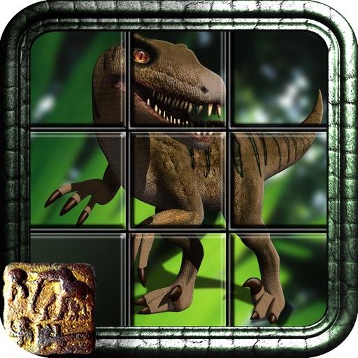 Dinosaur Slider for iPad Free iOS App