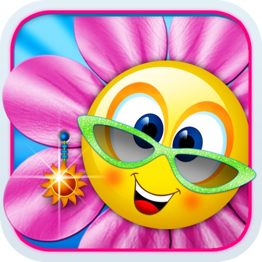 Singing Daisies - a dress up & make up games for kids iOS App