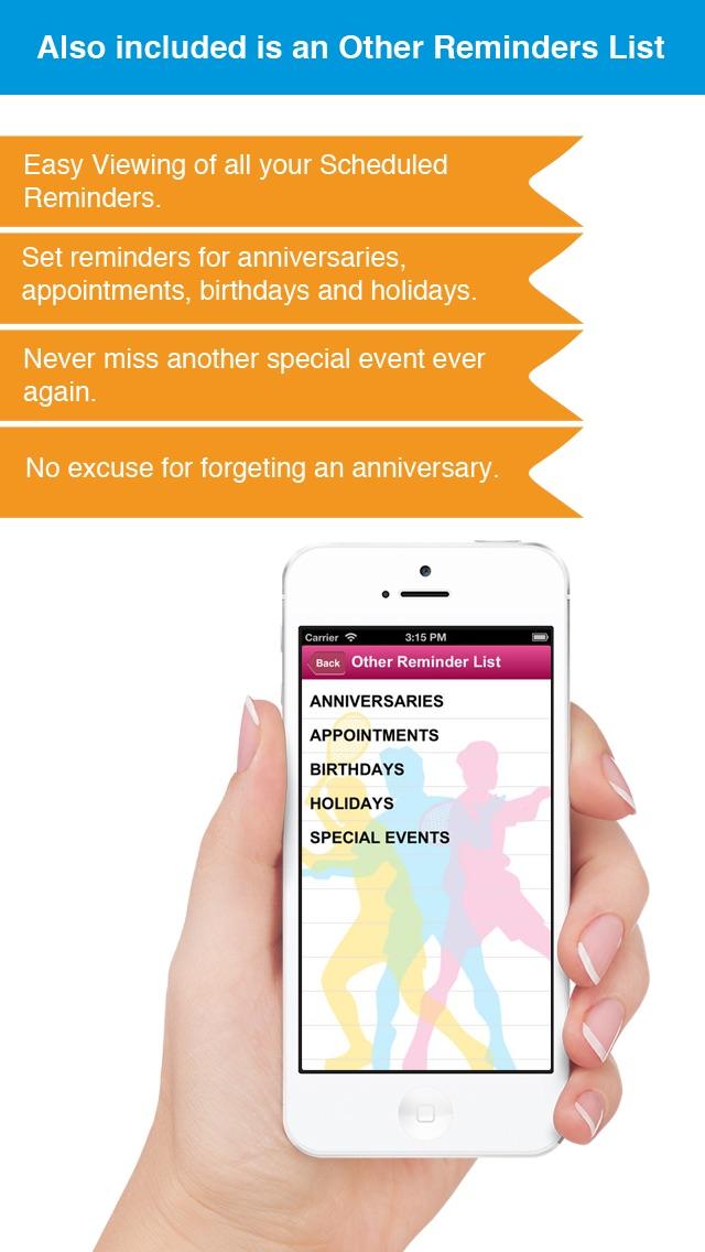 Теннис напоминание App - Расписание активности Расписание Напоминания-СпортСкриншоты 5
