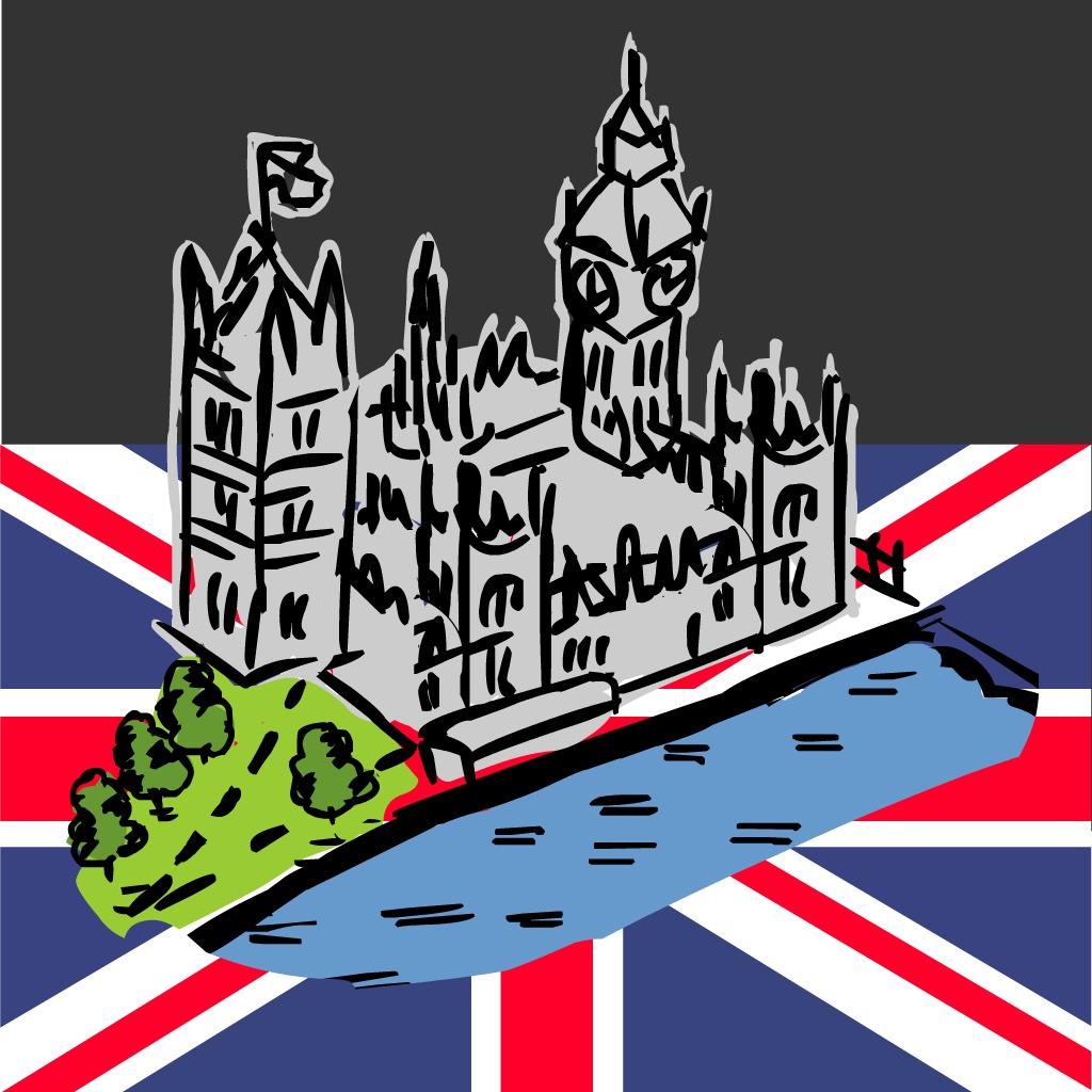 小资调调的手绘地图展现了伦敦各大值得走访的景点