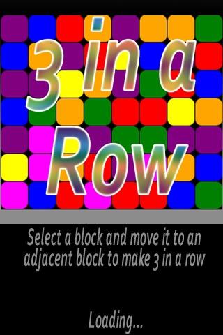 3 in a Row Free screenshot 1