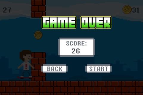 Hover Harry - The Kickflip Flying Ollie Skateboard Game screenshot 4