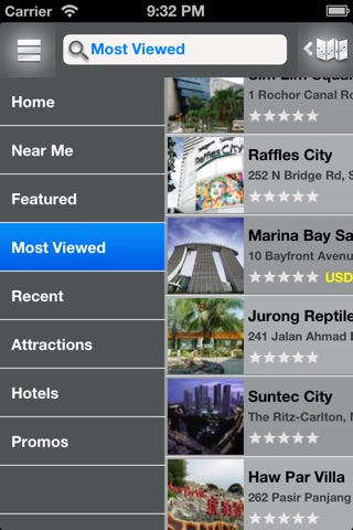 MyTravel Singapore screenshot 2