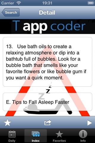 Sleep Tips screenshot 1