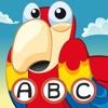 ABC Pirates! Gioco per bambini: Imparare di scrivere le parole e l'alfabeto con pirata, il capitano, pappagallo, tesoro, coccodrillo e la nave nell'oceano. Gratis, nuovo, imparare, per la scuola materna, scuola materna e la scuola!