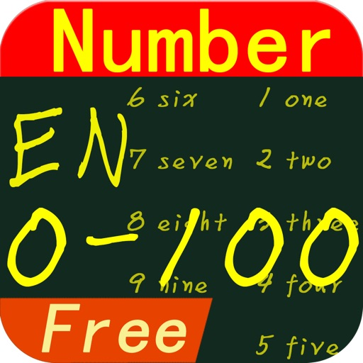 Learn English Number Lite iOS App