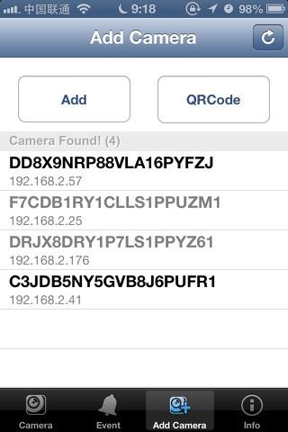 MyCam P2P screenshot 3