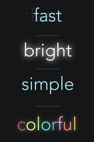 myLite LED Flashlight & Strobe Light for iPhone and iPod - Free screenshot 1