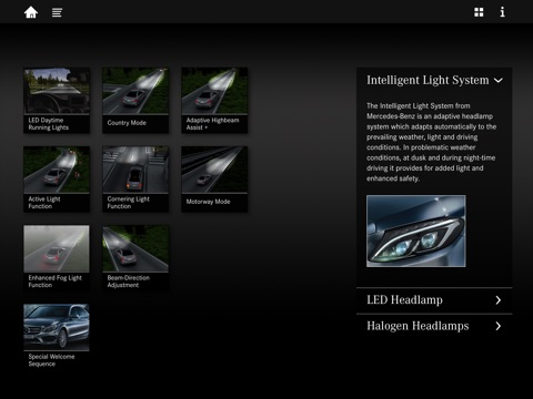 Mercedes-Benz W205 Light screenshot 3
