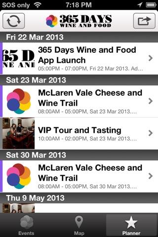 365 Days of Wine and Food screenshot 3