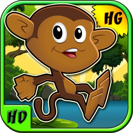 Mega Monkey Jump: Kico's Jumping Adventure! for iPad iOS App