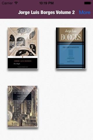 Jorge Luis Borges Collection Volume 2 screenshot 1