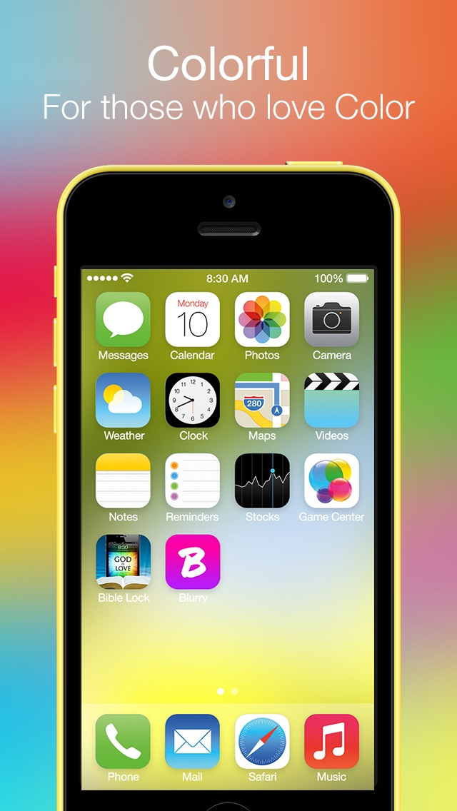 Blurry - Wallpapers for iOS 7Screenshot of 3