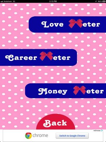 Luck Meter HD screenshot 2