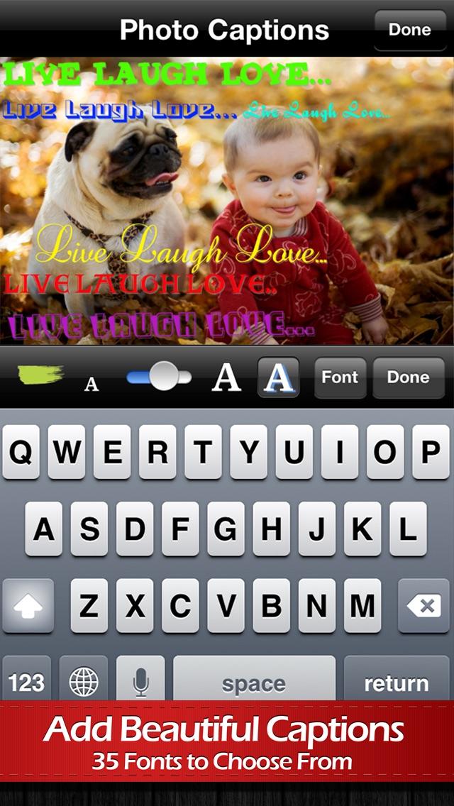 Screenshot #3 for Photo Captions Premium