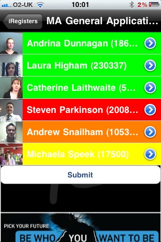 iRegisters screenshot 3