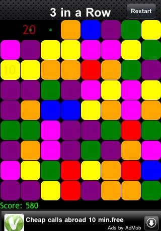 3 in a Row Free screenshot 4