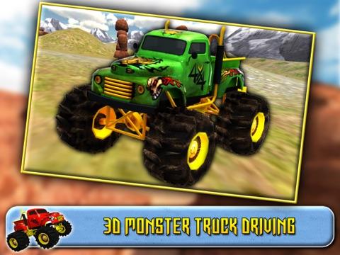 Screenshot #4 pour 3D Monster Truck Driving