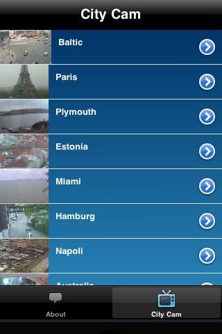 City Cam - Live feeds screenshot 1
