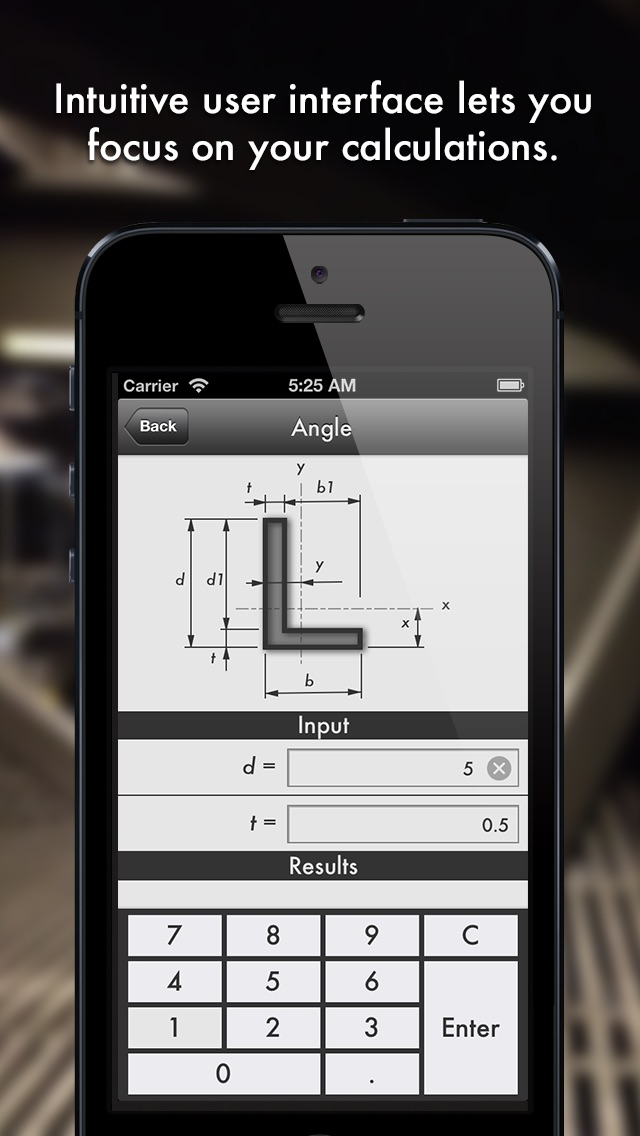 Section – Форма калькулятор для инженеров. A shape and section property calculator for structural and civil engineers that fits in your pocket.Скриншоты 3
