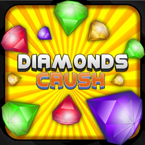 Diamonds Crush - Free Puzzle Game iOS App