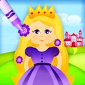 Doodle Fun for Girls - Draw Play & Color with Princesses Fairies Magic Fairy Tale Mermaids Palaces Gardens and Flowers in a Fun Creative Game for Preschool Kindergarten Grade 1 2 3 and 4 Kids