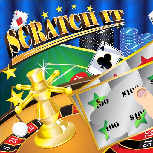 Scratch It! Jackpots FREE – Lottery Scratch Cards Games iOS App