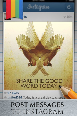 Christian Message - Share bible quotes on Instagram screenshot 1