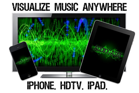 Download Audiogasm: Music Visualizer - Real time animation