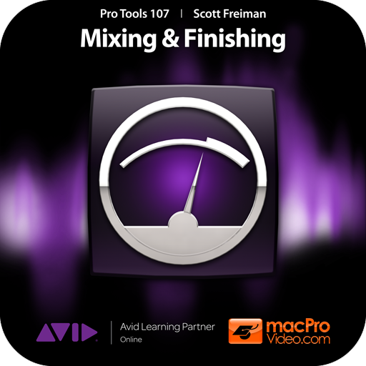 Course For Pro Tools 10 107 - Exploring the Mixer