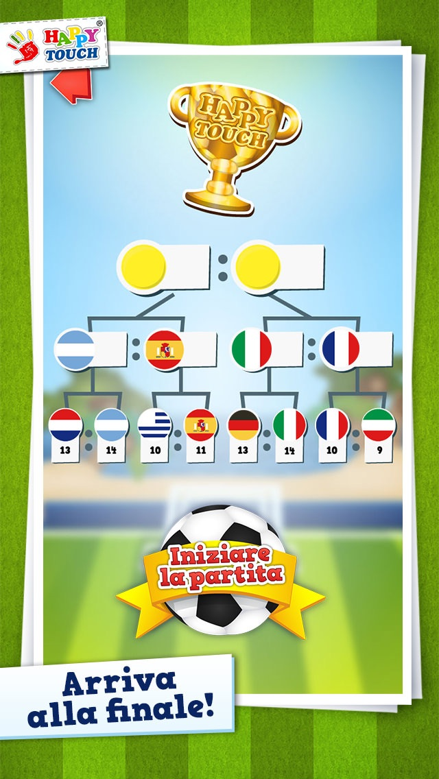 Screenshot of Giochi di calcio per bambini da Happy-Touch®3