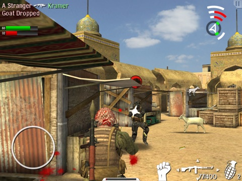 Screenshots of Trigger Fist for iPad