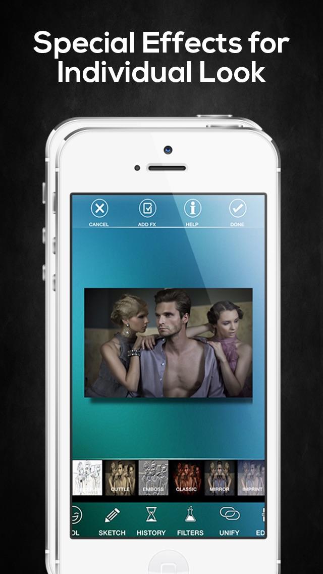Wrapcam — редактор фотографий и спецэффектов Скриншоты4