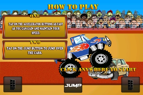 Monster Jam - Dirt Track Truck Racing Game Free screenshot 1