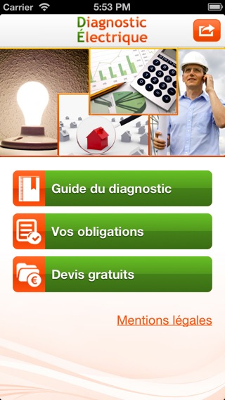 Diagnostic lectrique app store - Diagnostic electrique location ...