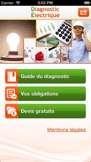 Diagnostic lectrique app store - Diagnostic electrique location ...