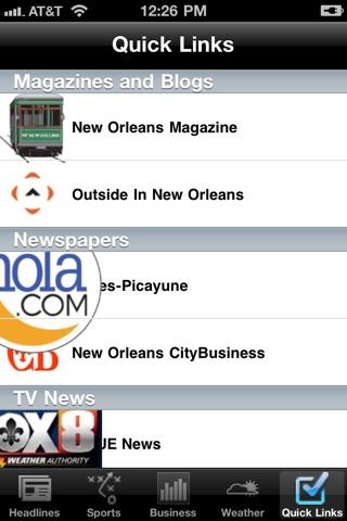 New Orleans Local News Free screenshot 3