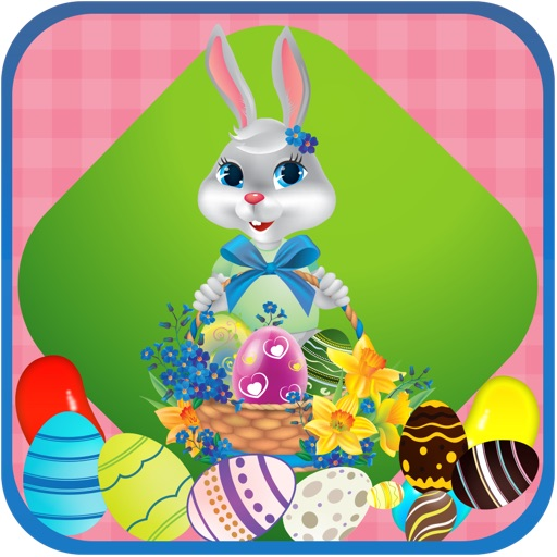 A Easter Bunny  & Easter Eggs Chocolate Candy Basket Adventure for Kids Free iOS App